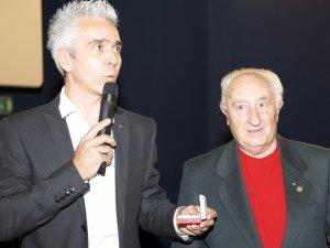 Con Stefano Secco