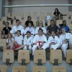 gli atleti del Judo Club Tolmezzo