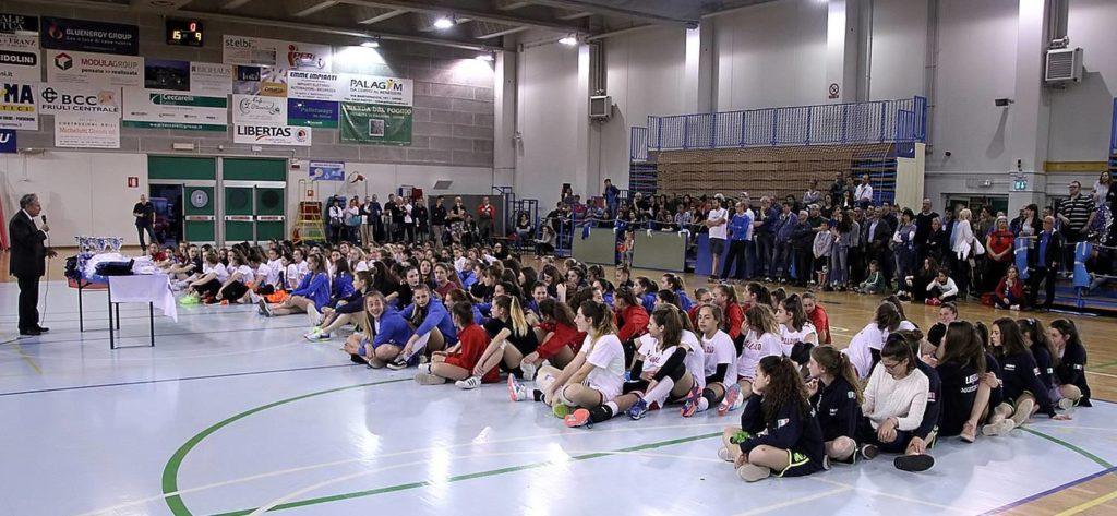 1-Premiazioni I Torneo pasquale Volley U14 e U16