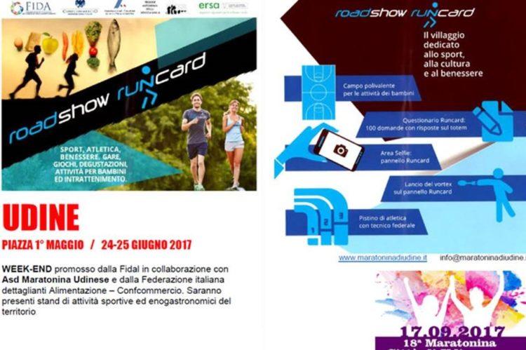 Road show runcard