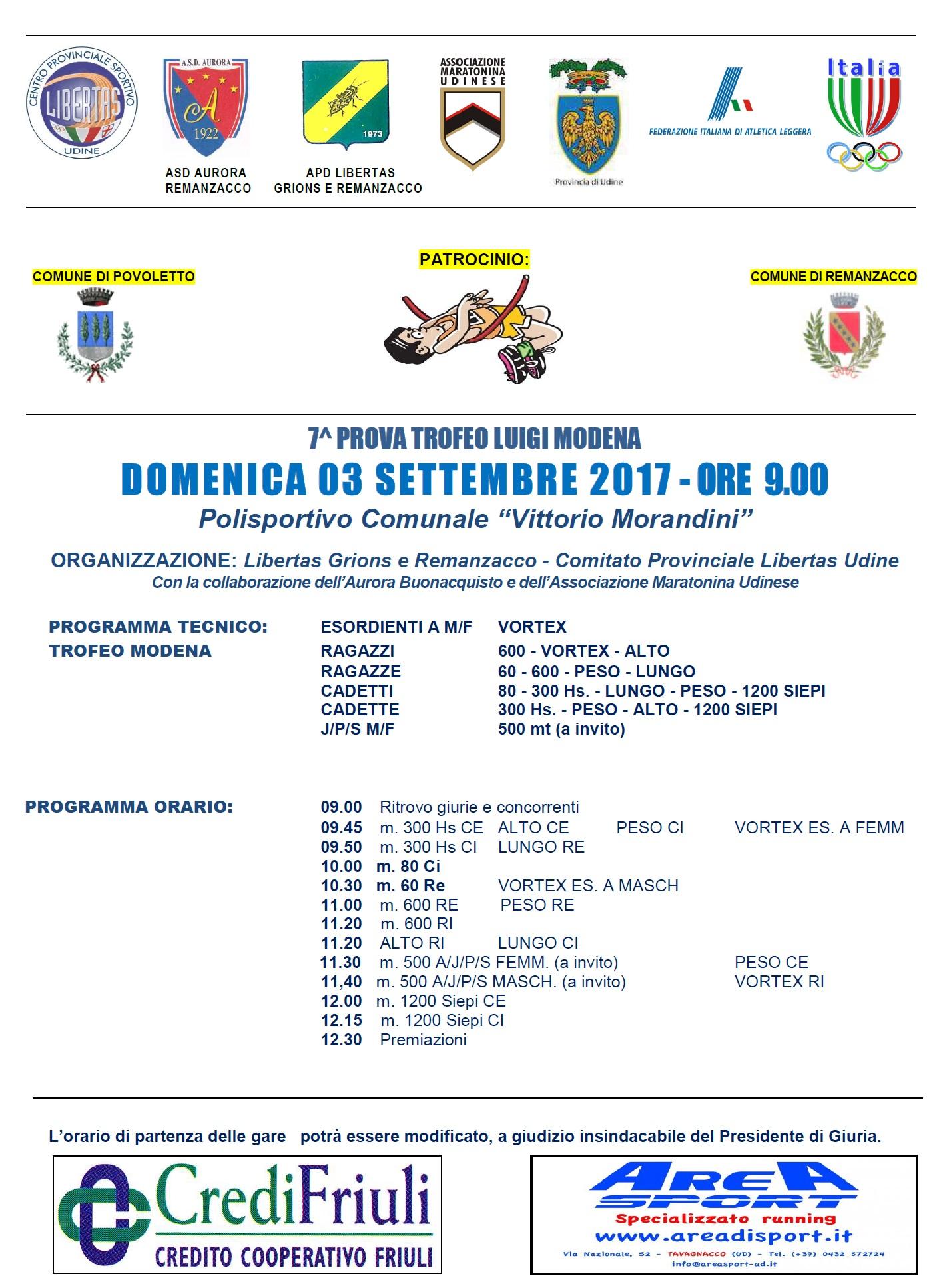 Penultima prova del Trofeo Modena