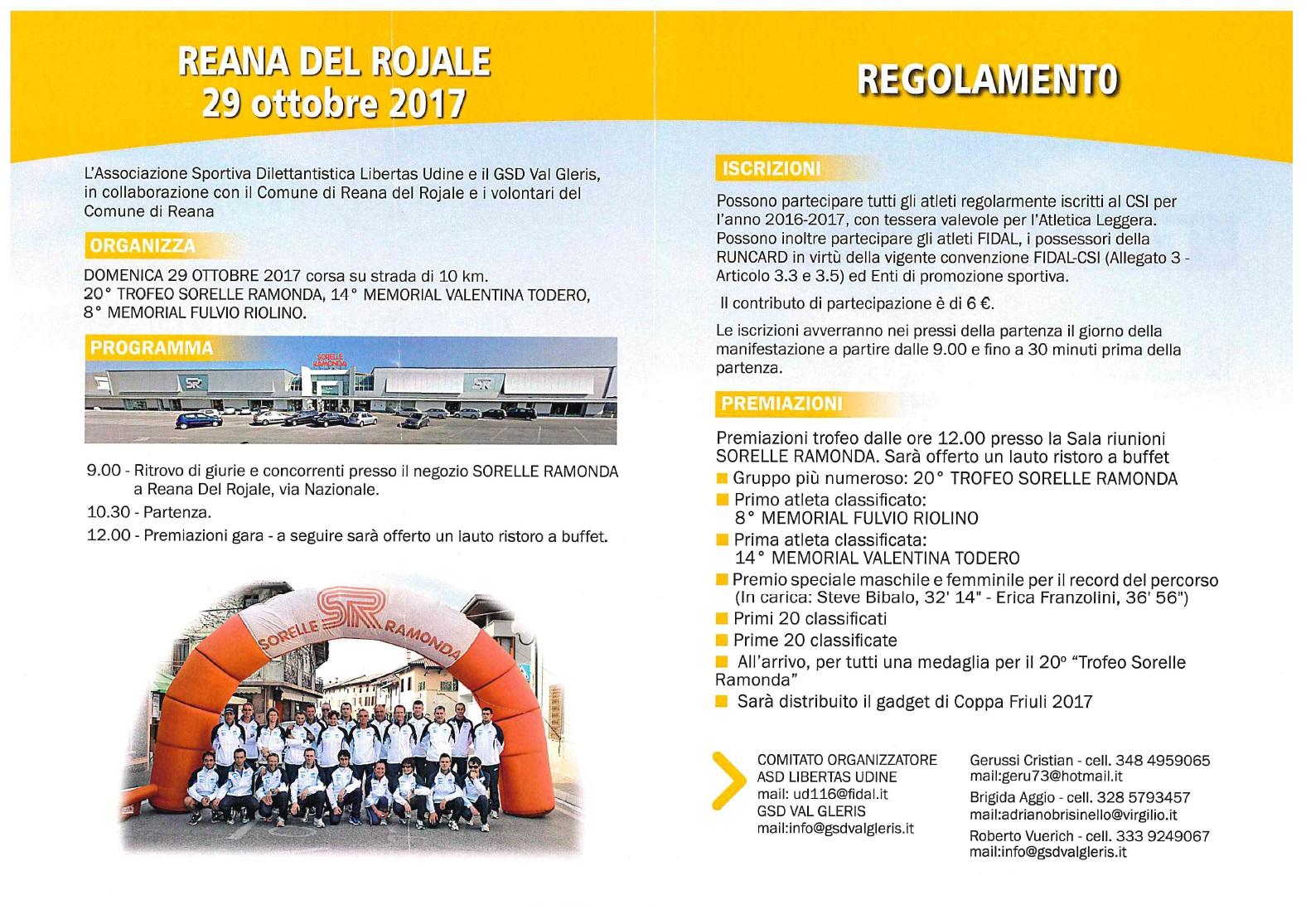 20° Trofeo Sorelle Ramonda