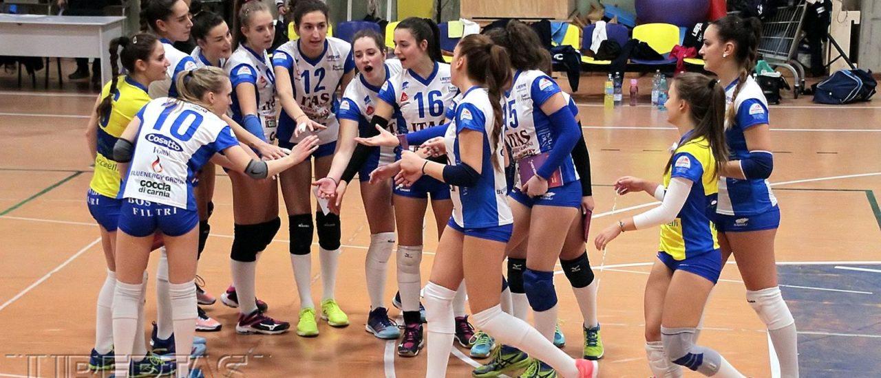 Volley, Ezzelina Volley vs Itas Città Fiera: Sesta vittoria consecutiva per le udinesi