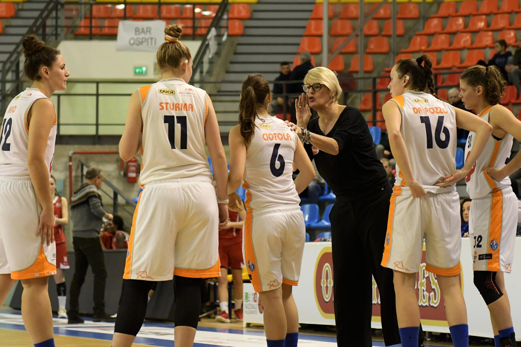 Delser vs Basket Club Bolzano