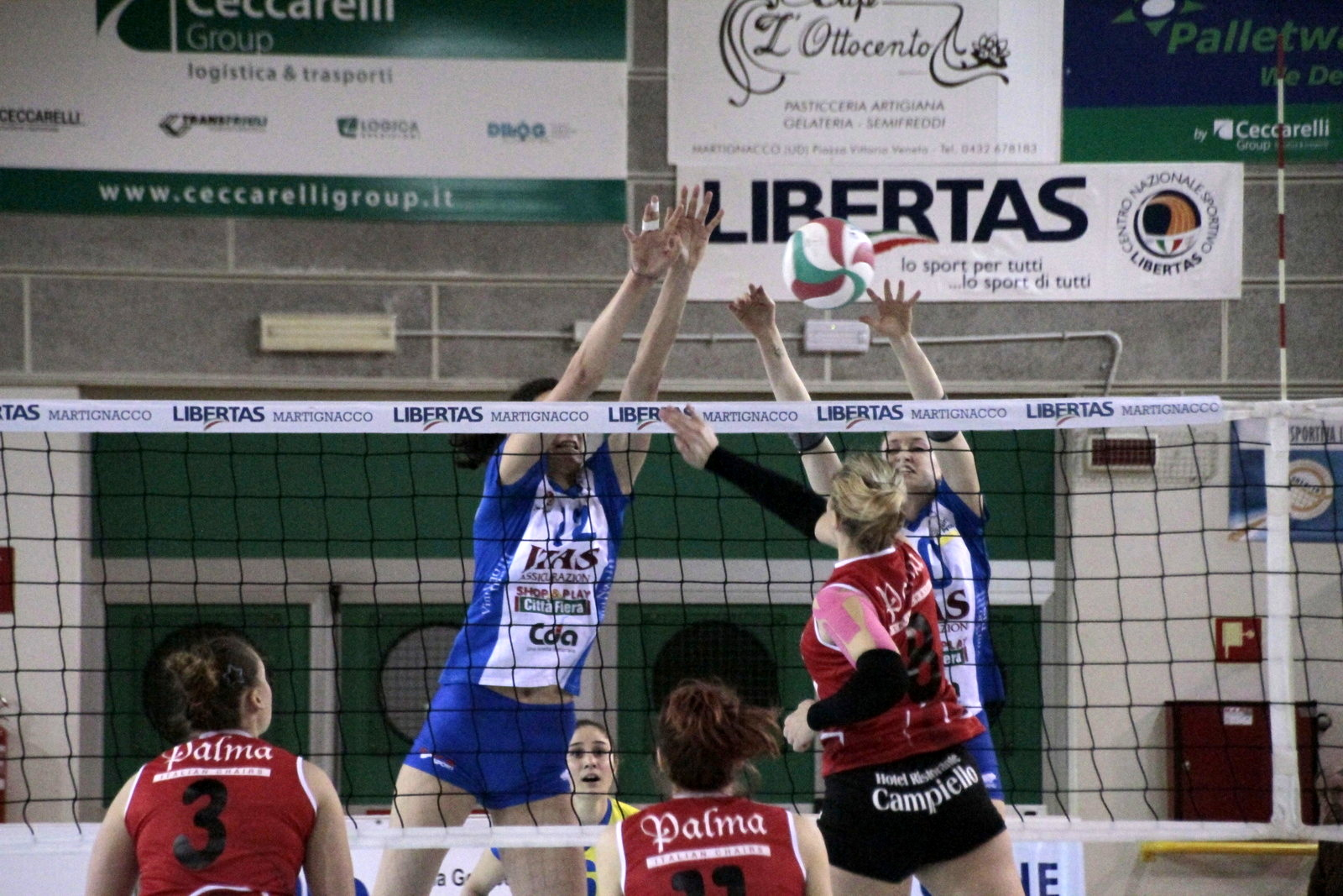 Itas Martignacco vs Est Volley