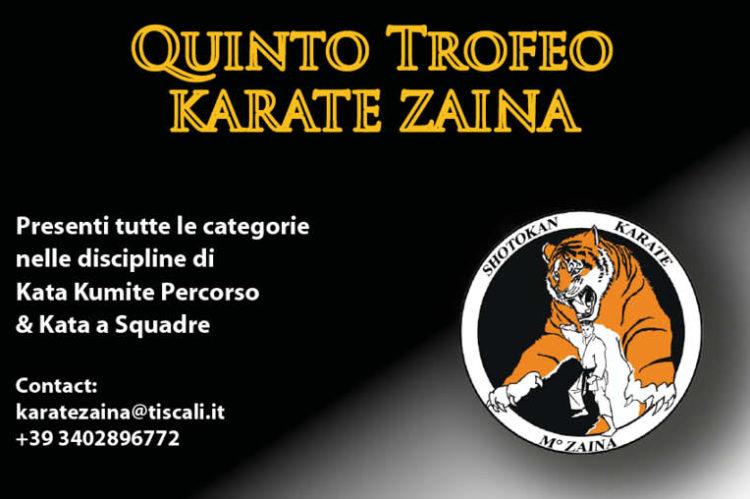 5° Trofeo Karate Zaina