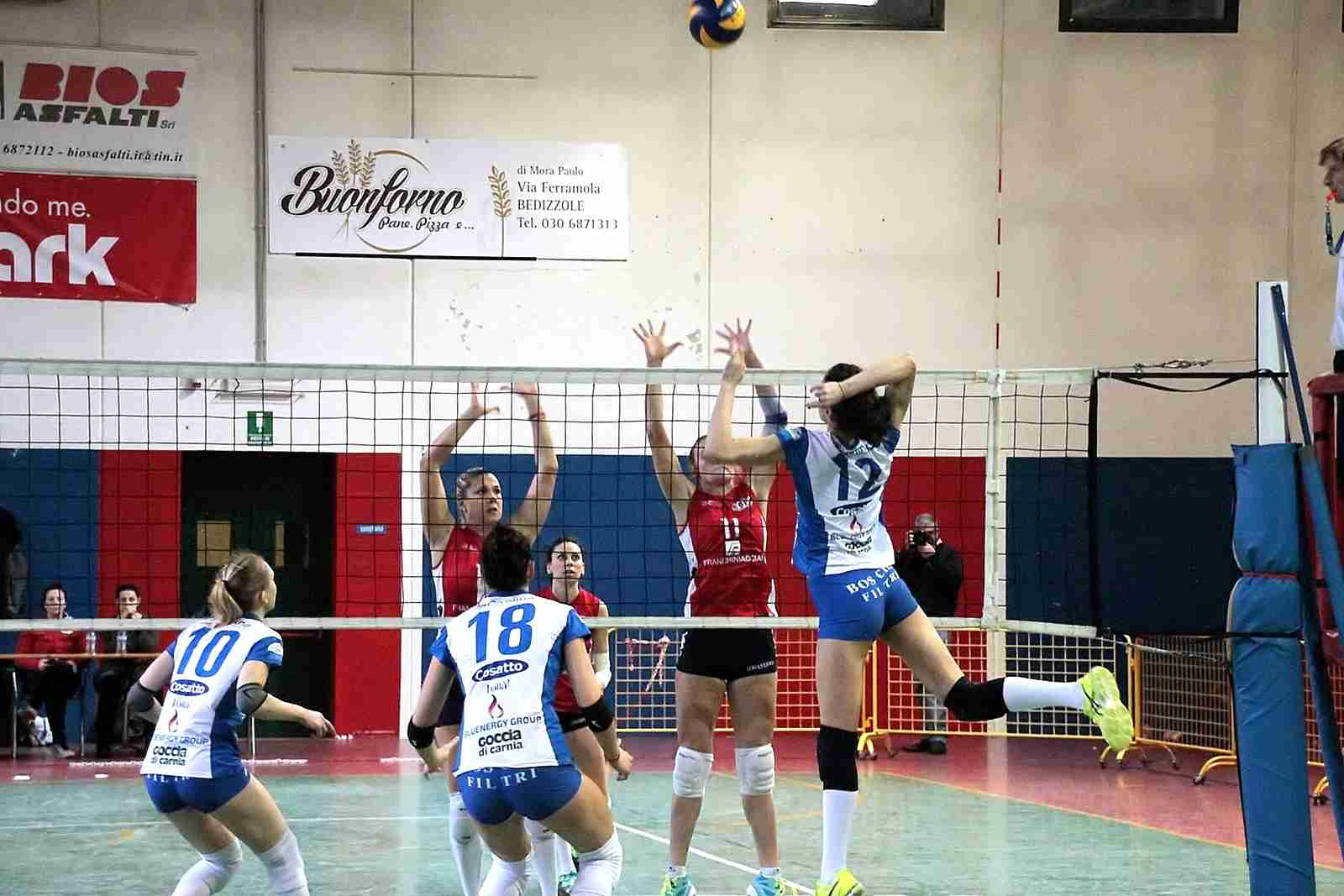Bedizzole Volley vs Itas Martignacco