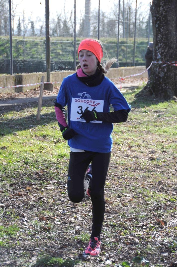 Alessia Cescutti campionessa regionale di Cross