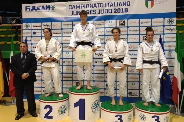 Campionati Italiani 2018, Betty Vuk Campionessa 2018