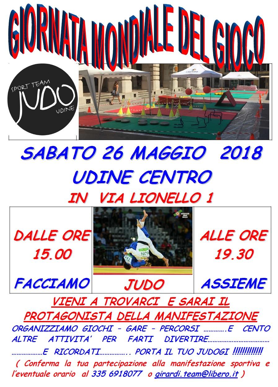 Judo la giornata mondiale del gioco 2018 preparata dallo for Giornata mondiale del bacio 2018