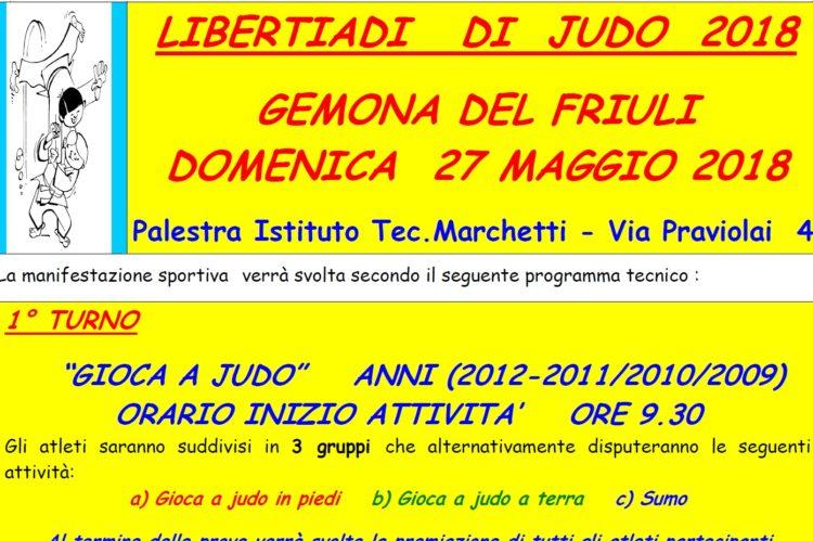 Libertiadi di judo 2018