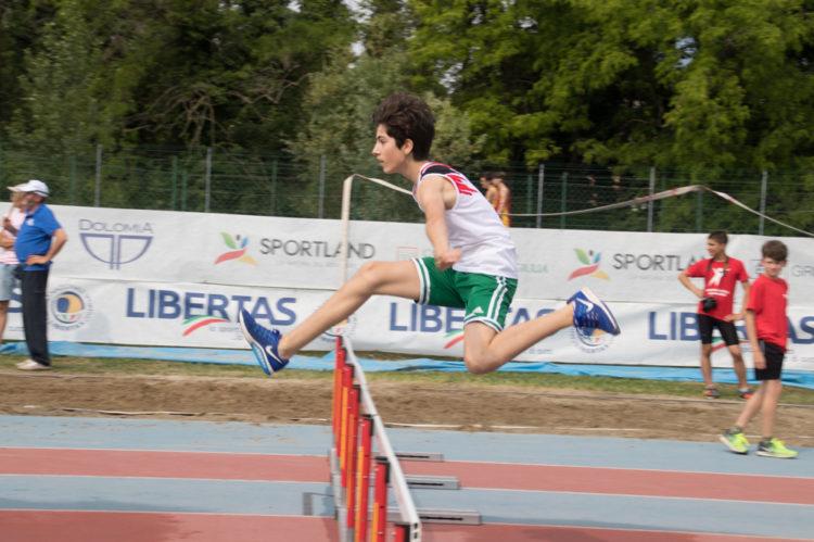 atletica leggera alle Libertiadi 2018