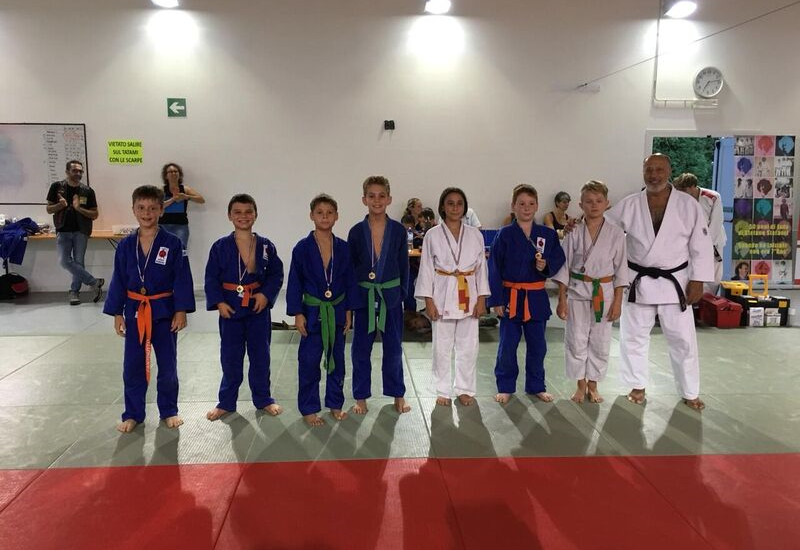 Judo, Circuito Estivo Libertas 2018: Stefanel già campione