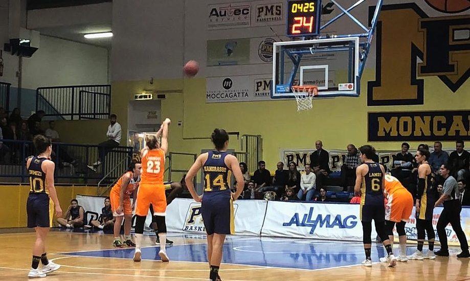 Basket, Libertas Moncalieri – Delser Udine. Le udinesi cadono in campo veneto