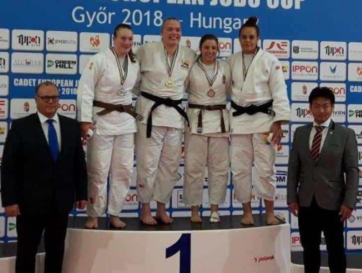 Judo. Tavano di Bronzo all'European Cup Cadetti di Gyor, Zanon qualificata ai Tricolore
