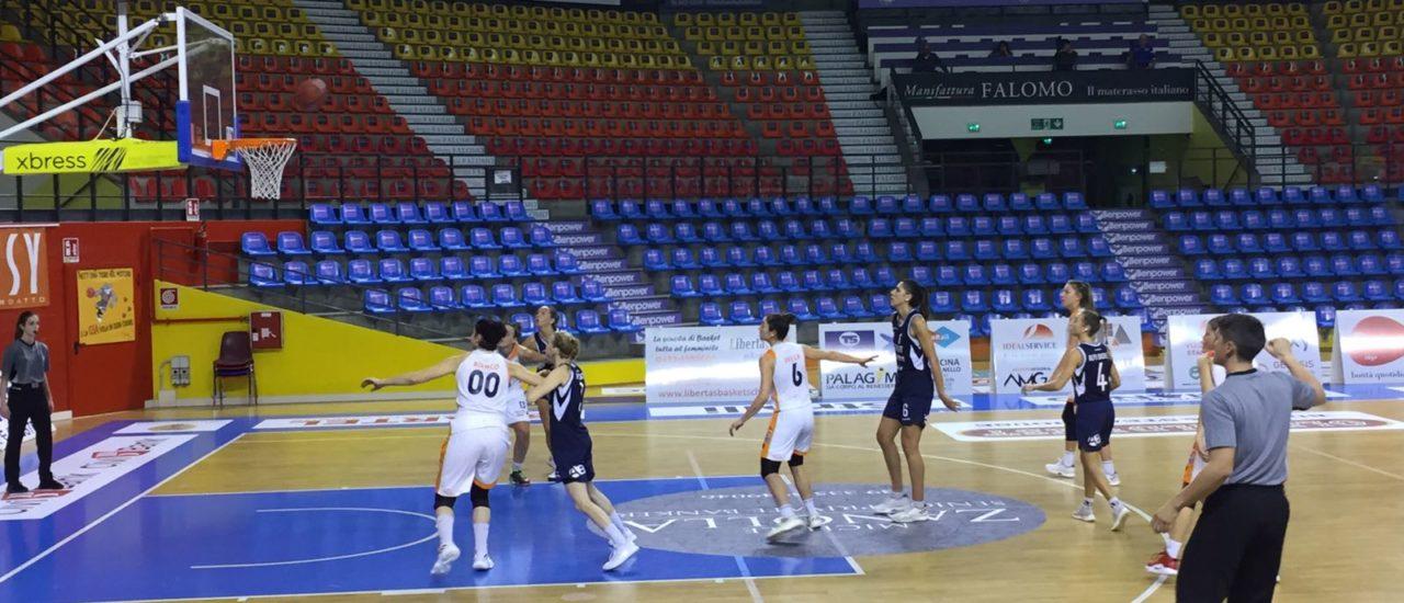 Basket, Delser – Alpo Basket. Terzo stop per le udinesi