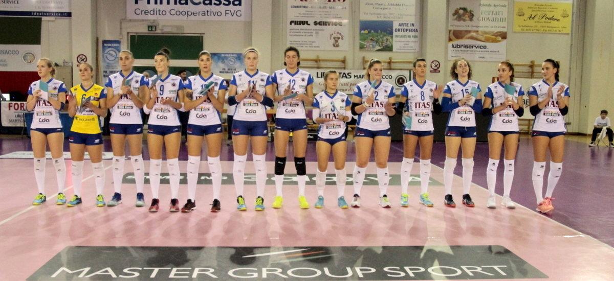Volley, Pinerolo – Itas. Una vittoria per la qualificazione in Coppa Italia
