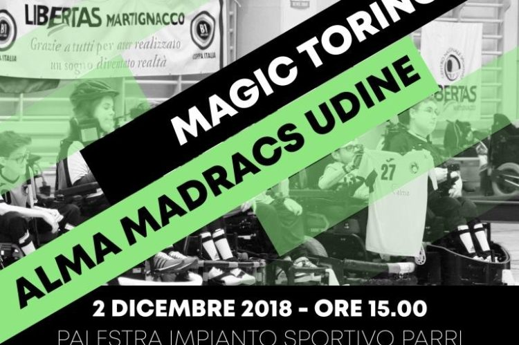 Magic Torino - Alma Madracs Udine