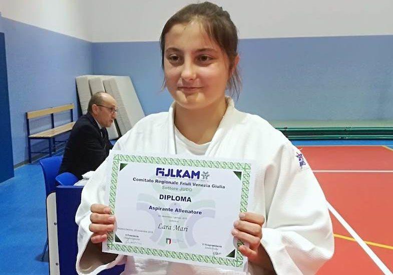 Judo, Lara Mari super l'esame per aspirante allenatore