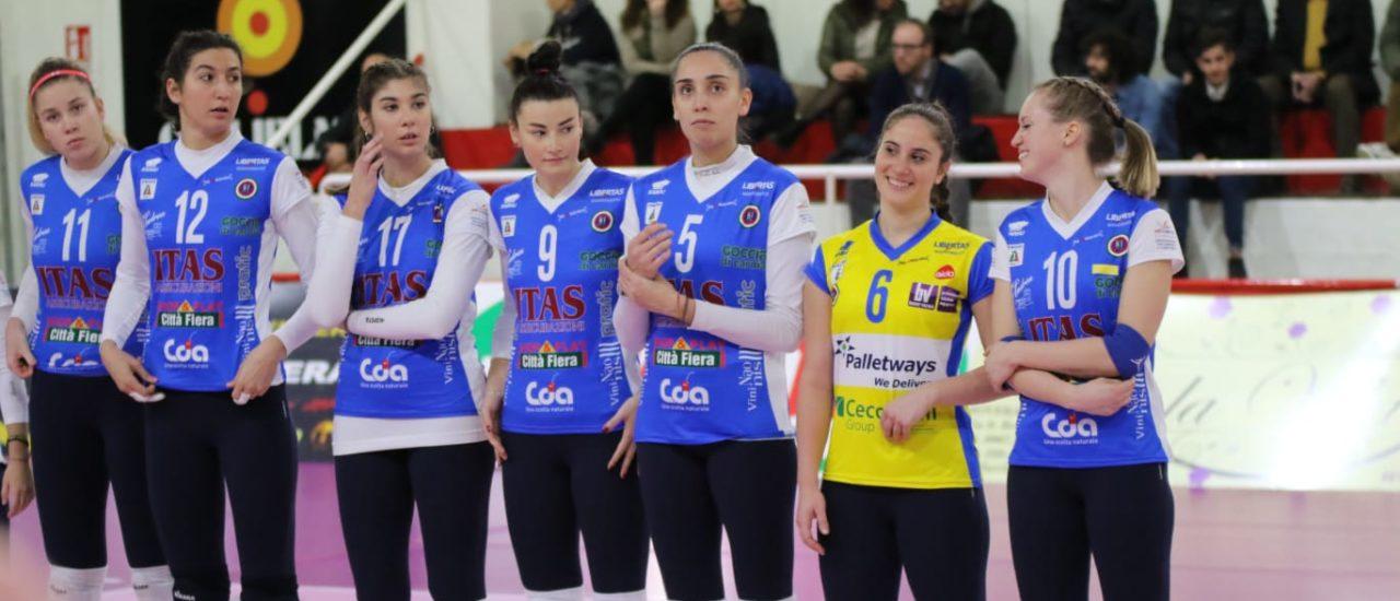 Volley, Soverato – Itas Città Fiera. Udinesi semplicemente fantastiche