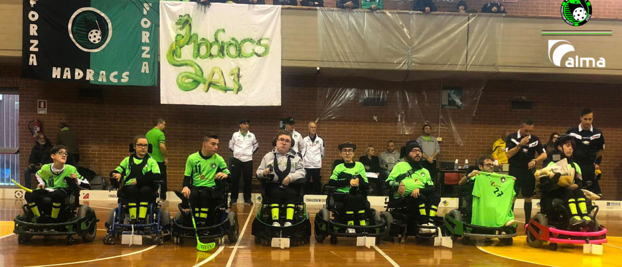 Powerchair hockey, Magic Torino – Alma Madracs. Prima vittoria stagionale