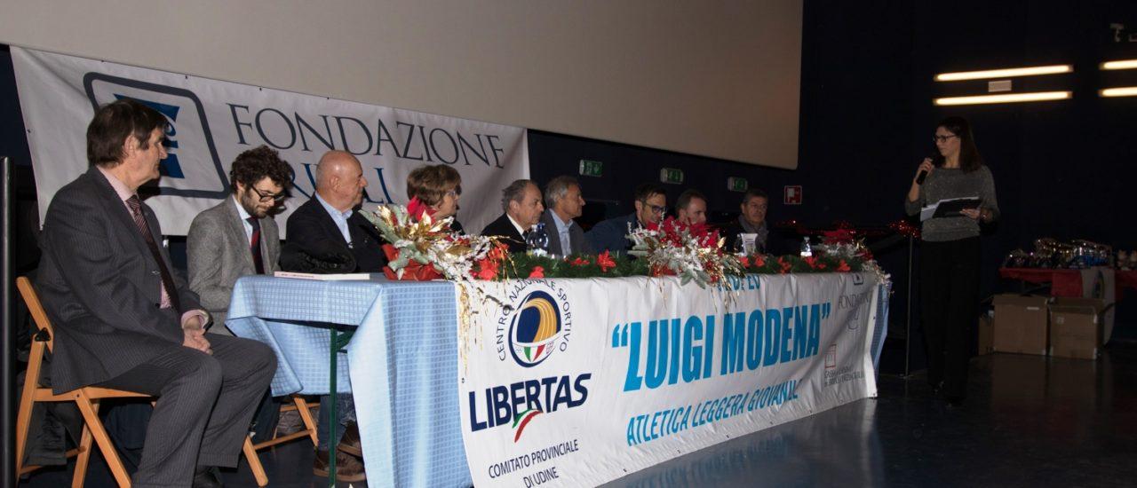Cerimonia di premiazioni Libertas Udine 2019 al Città Fiera domenica 8 dicembre