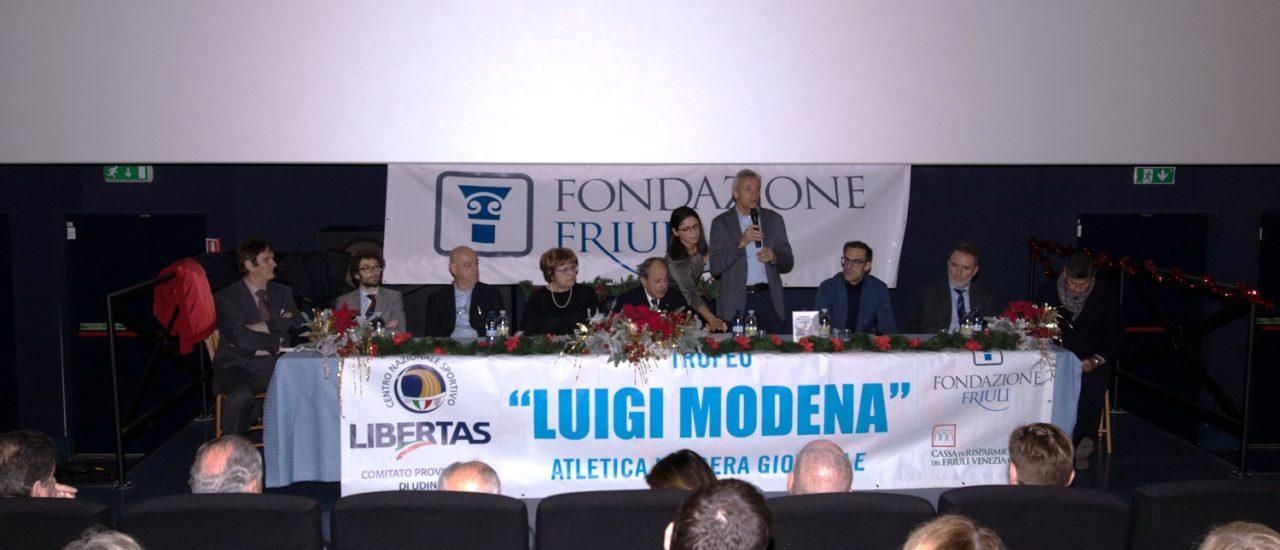 Premiazioni delCentro Provinciale Sportivo Libertas di Udine 2018