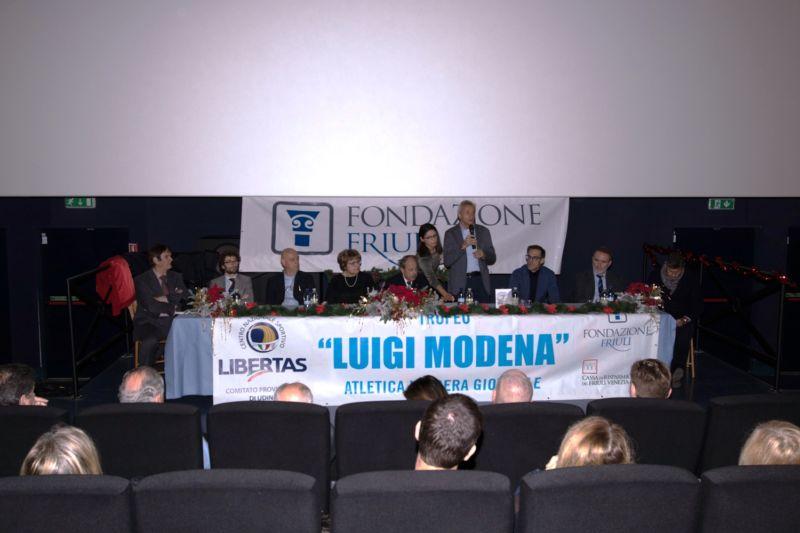 premiazioni delCentro Provinciale Sportivo Libertas di Udine 2018.
