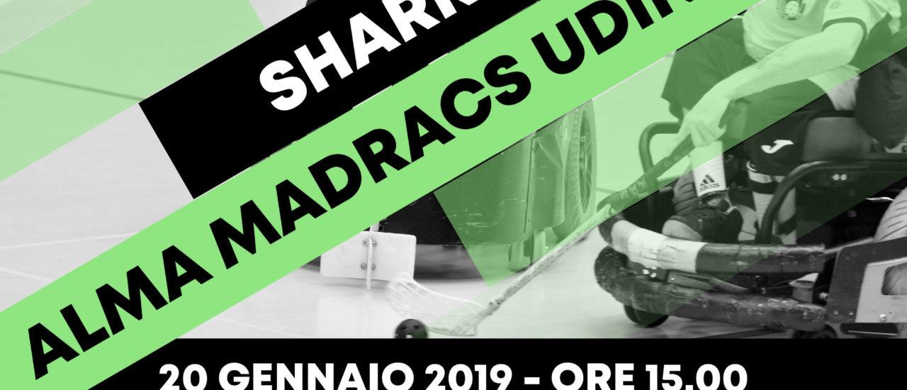 Powerchair hockey. Serie A. Madracs Udine – Sharks Monza