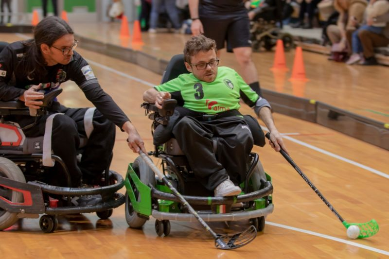 Powerchair hockey, Madracs Udine – Magic Torino