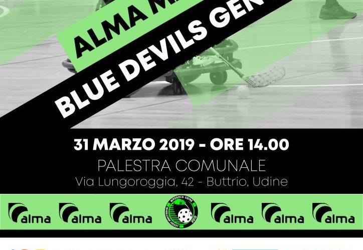 Prepartita Madracs - Blue Devils Genova