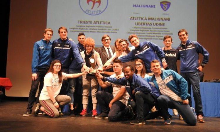 Atletica regionale premia i suoi campioni
