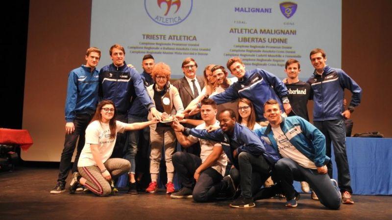 Atletica. L'Atletica regionale premia i suoi campioni. Libertas in prima fila