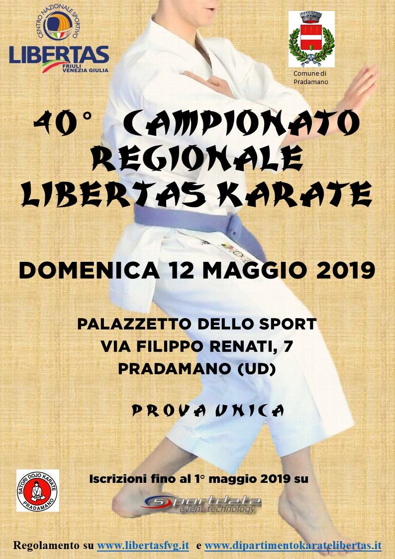 40° Campionato Regionale Libertas di Karate