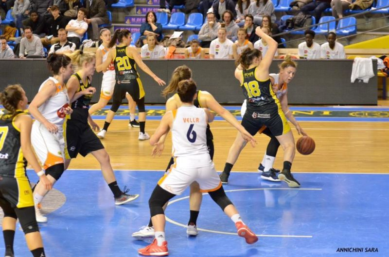 Basket, Delser Udine – San Martino di Lupari
