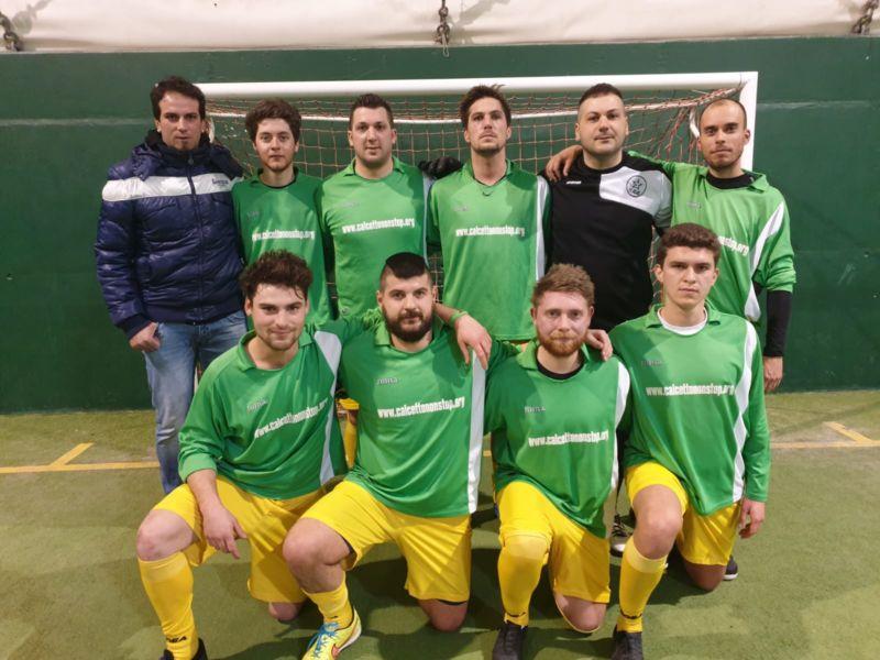 Primi finalisti Campionato provinciale Libertas C5