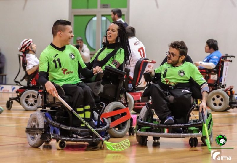 Powerchair hockey, Skorpions Varese – Alma Madracs