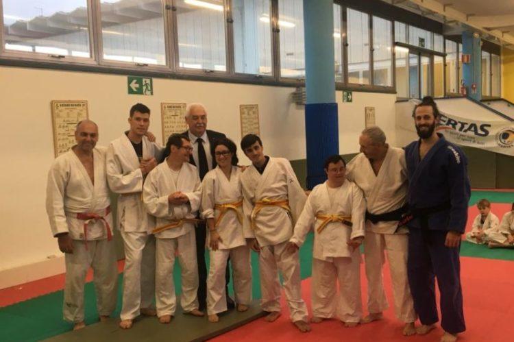 corso di judo per ragazzi InSuperAbili