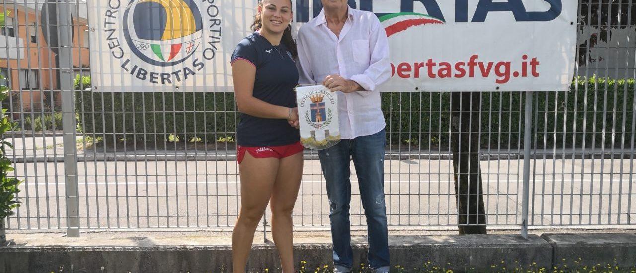 Sara Fantini si allena a Tolmezzo