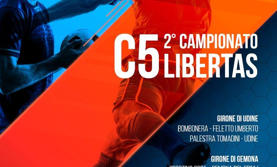 2° Campionato Provinciale Libertas C5. Iscrizioni aperte