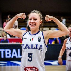 Basket. Giulia Ianezic convocata in nazionale