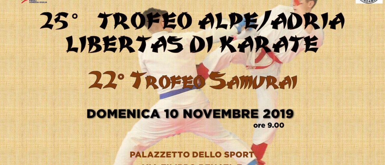 Karate. La carica dei 200 al 25° Trofeo Alpe/Adria Libertas