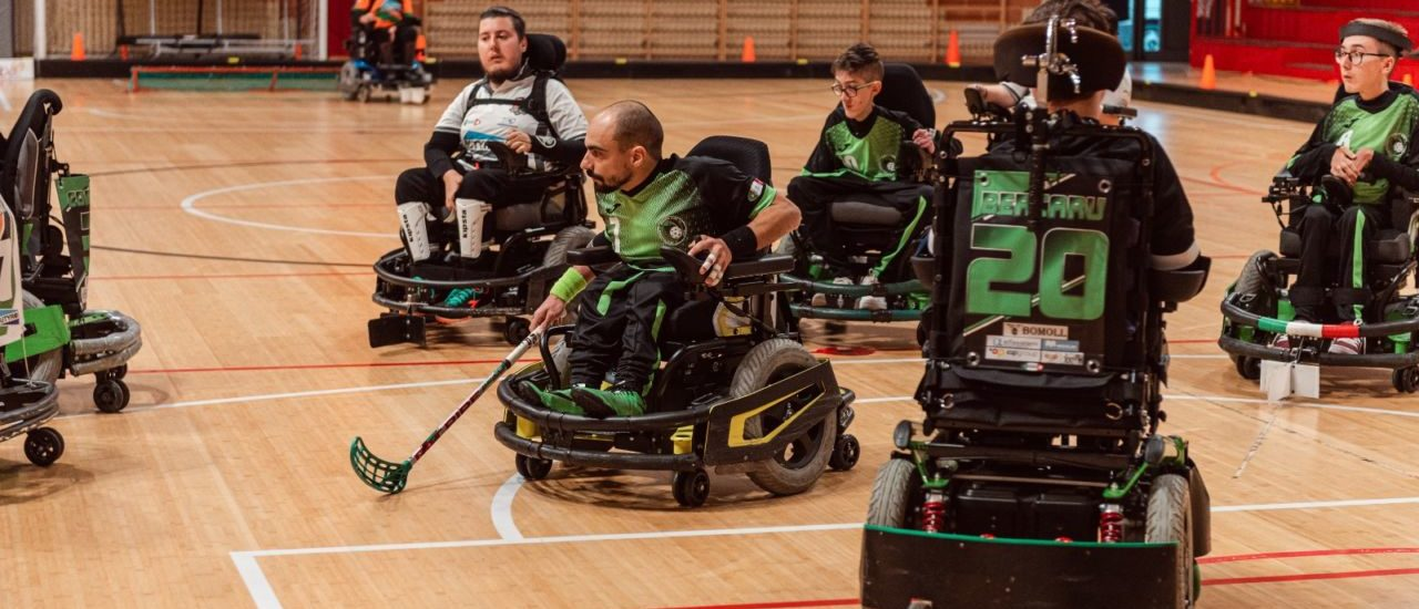 Powerchair hockey. I Madracs pronti ad affrontare per la prima volta la Vitersport Viterbo