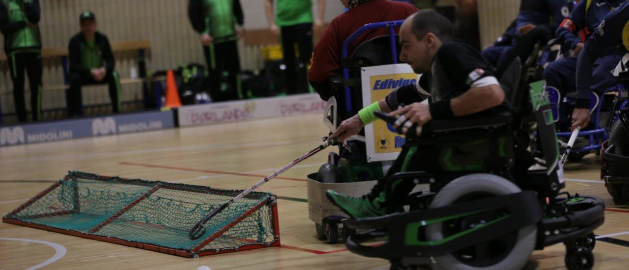 Powerchair hockey, Madracs – Vitersport Viterbo. A Udine non si passa