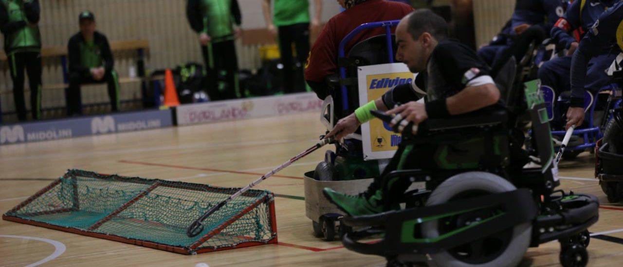 Powerchair hockey, Madracs – Vitersport Viterbo. A Udine non si passa