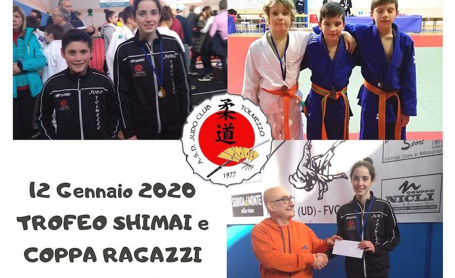 Judo XII Trofeo Shimai e IV Coppa ragazzi. Inizio anno con il botto per Tolmezzo