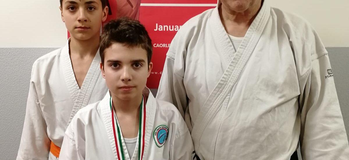 Karate, 3° European Cup. Burello d'argento a Caorle