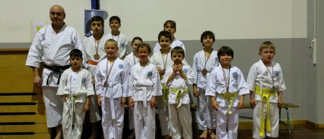 6° Trofeo Karate Do Città di Sacile. Quattro medaglie per la Nakayama