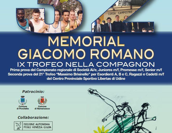 Cross. Prosegue il 21° Trofeo Massimo Brisinello con il Memorial Romano di Remanzacco