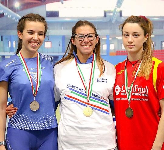 Atletica. Berton di Bronzo ai Campionati Italiani Assoluti di Ancona